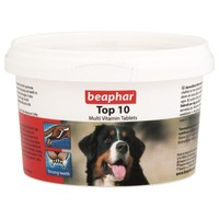 Beaphar Top 10 Multi-Vitamin Tablets for Dogs big image