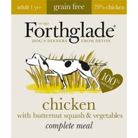 Forthglade Complete Meal Grain Free Dog Food (Chicken/Butternut Squash/Veg) big image