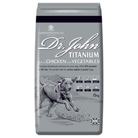Dr John Titanium Adult Dry Dog Food (Chicken with Veg) big image