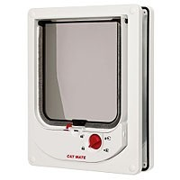Cat Mate Electromagnetic Cat Flap 254 (White) big image