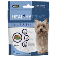 VetIQ Healthy Treats Breath and Dental Dog Treats 70g big image
