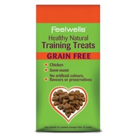 Feelwells Healthy Natural Training Dog Treats (Grain Free Chicken) 115g big image