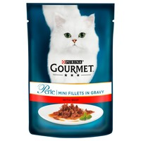 Purina Gourmet Perle Wet Cat Food Pouches (24 x 85g) big image
