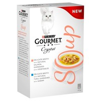 Purina Gourmet Soup Multipack with Salmon Pouches (40 x 40g) big image