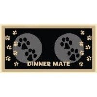 Pet Rebellion Dinner Mate Black Mat 40 x 60cm big image
