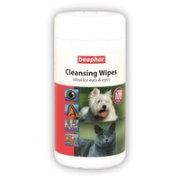 Beaphar Cleansing Wipes 100 Pack big image