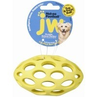 JW Hol-ee Football Dog Toy big image