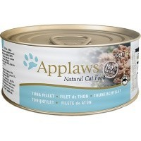Applaws Adult Cat Food in Broth Tins (Tuna Fillet) big image