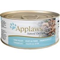 Applaws Adult Cat Food in Broth Tins (Tuna Fillet) big image