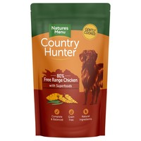 Natures Menu Country Hunter Dog Food Pouches (Chicken) big image