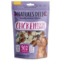 Natures Deli Chicken and Fish Sushi Bites 100g big image