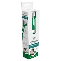 Vet's Best Triple Headed Toothbrush For Dogs big image
