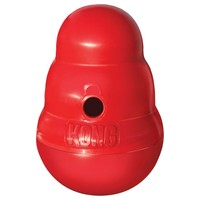 Kong Wobbler Dog Food and Treat Dispenser big image