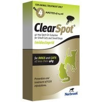 ClearSpot Spot-On Solution for Small Cats and Dogs (OUTER 24) big image