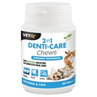 VetIQ 2in1 Denti-Care Chews (30 Tablets) big image
