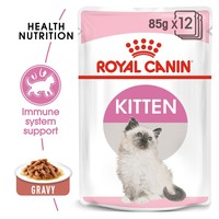 Royal Canin Pouches in Gravy Kitten Food big image