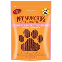 Pet Munchies Chicken & Sweet Potato Treats for Dogs 90g big image