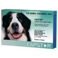 Capstar Flea Tablets for Large Dogs (Pack of 6) big image