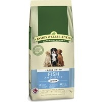James Wellbeloved Junior Dog Large Breed (Fish and Rice) 15kg big image
