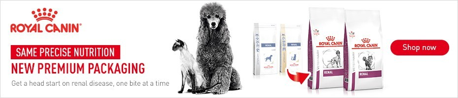 Same precise nutrition, new premium packaging - Royal Canin Renal